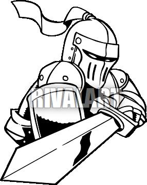 Knight Sword Clipart Ar5 Knight 08 Rq Png