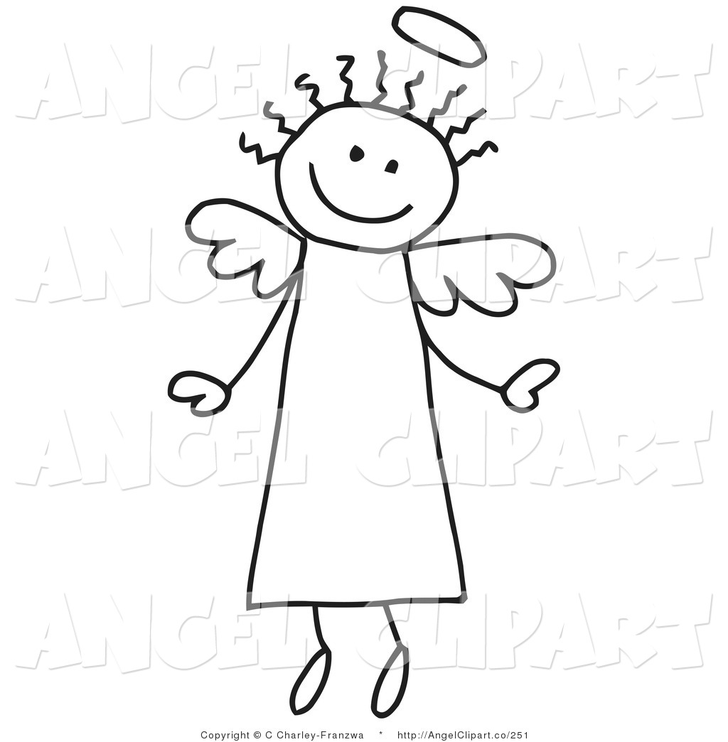 Happy Stick Figure Clipart - Clipart Kid