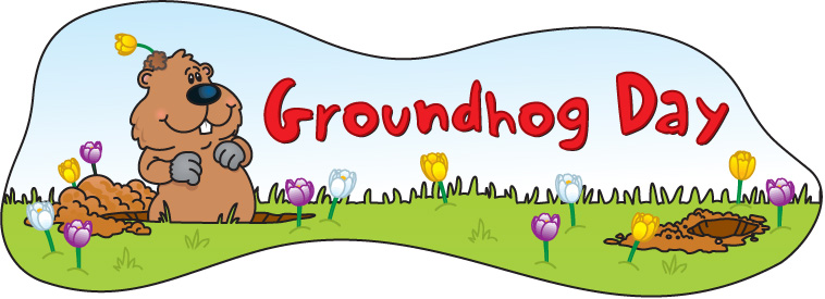 Image result for Groundhog Day clipart