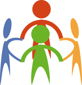 People Holding Hands In A Circle Clip Art At Clker Com   Vector Clip