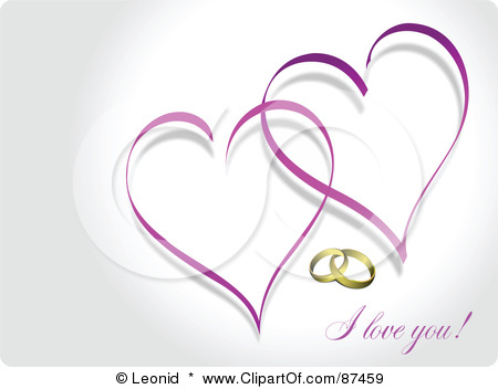 Purple Wedding Heart Clipart Images   Pictures   Becuo