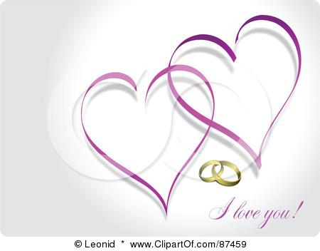 Purple Hearts Wedding Purple Heart We...