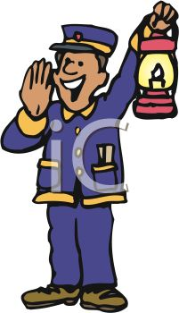 Train Conductor Free Clipart - - 18.0KB
