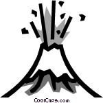 Lava Black And White Clipart - Clipart Kid