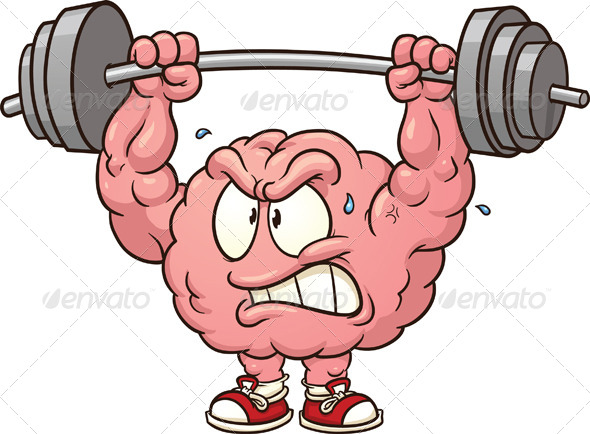 Weightlifting Brain   Health Medicine Conceptual