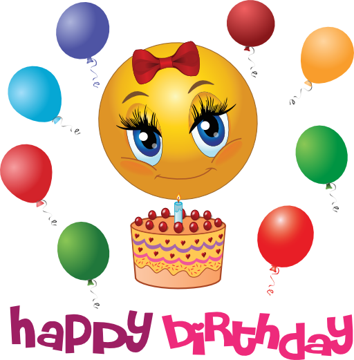Clip Art Smiley Face Birthday 2014 Clipart Best   Download
