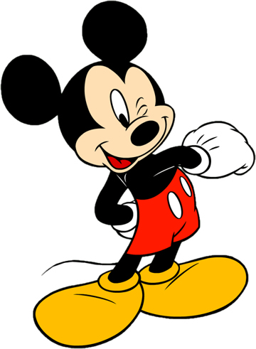 Disney Mickey Postman Clipart - Clipart Kid