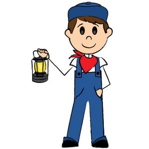 Train Conductor Free Clipart - Clipart Kid