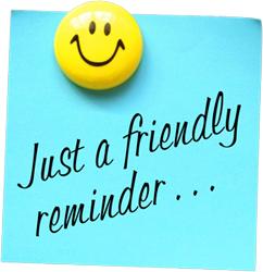 Image result for reminder signs clip art