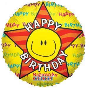 Happy Birthday Smiley Face Clip Art