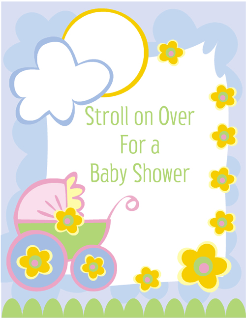 Printable Baby Shower Clipart Clipart Kid – Free Invitation Clipart
