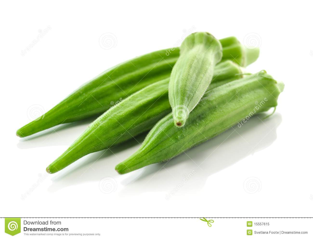 Okra Royalty Free Stock Photo   Image  15557615