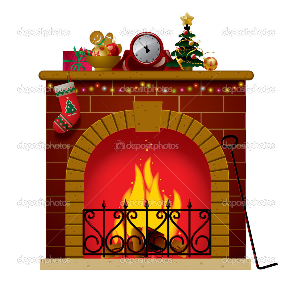 Stocking Clip Art Christmas Fireplace Clip Art Free Christmas Clip Art