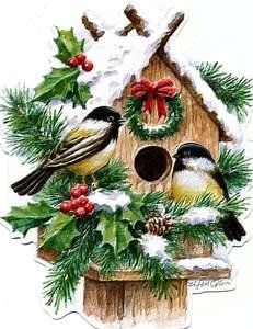Accept. vintage bird house paintings agree