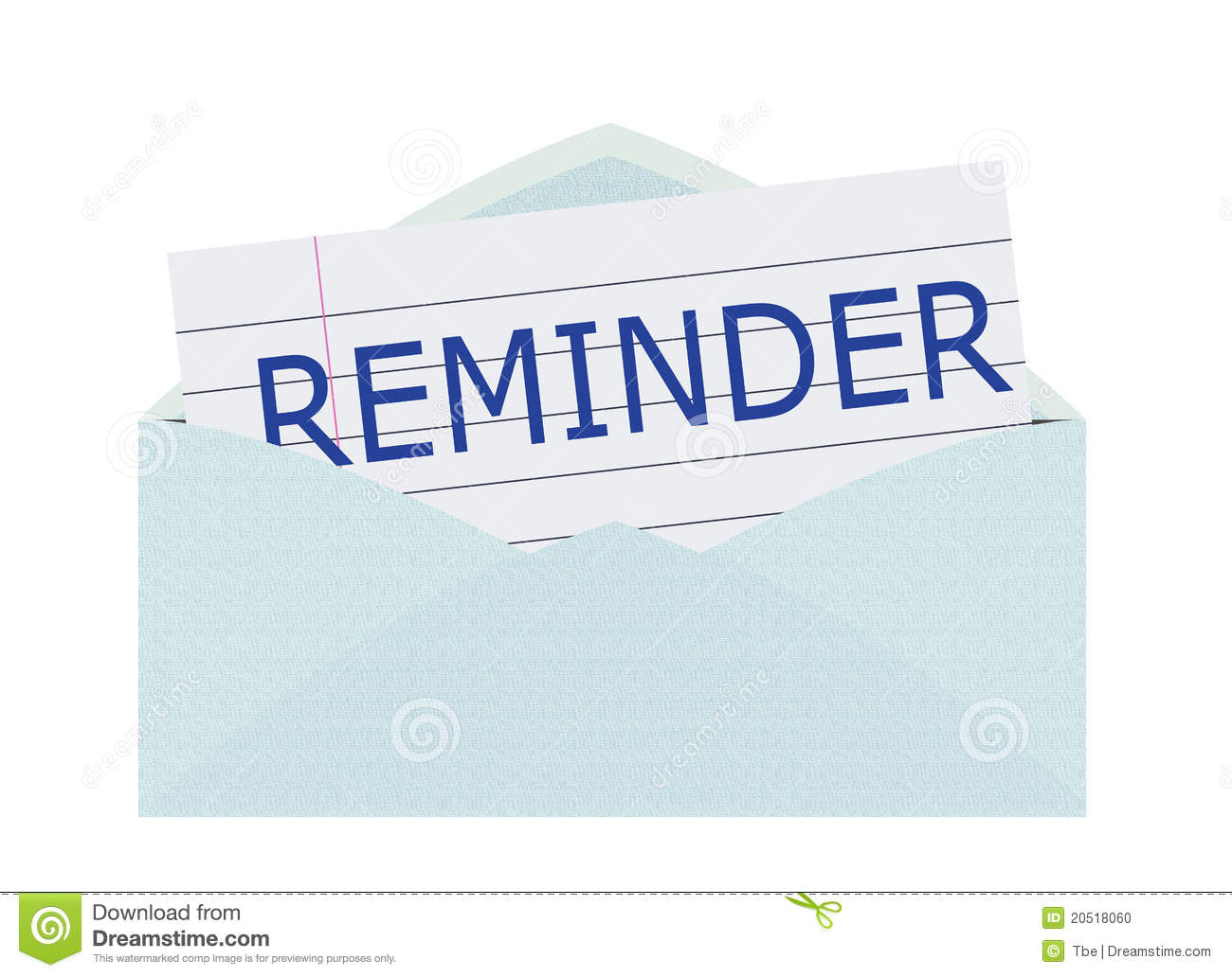 Payment Reminder Clipart