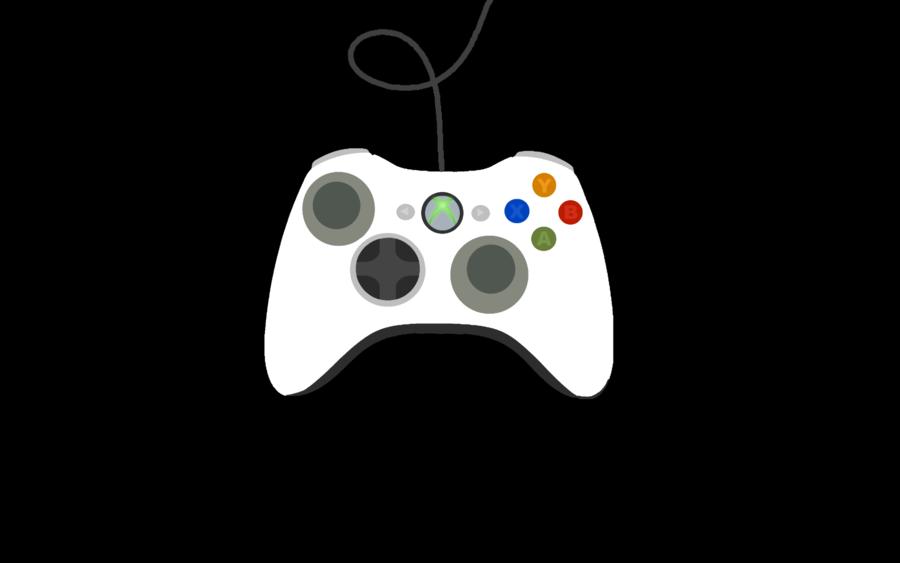 x box 360 controller clipart