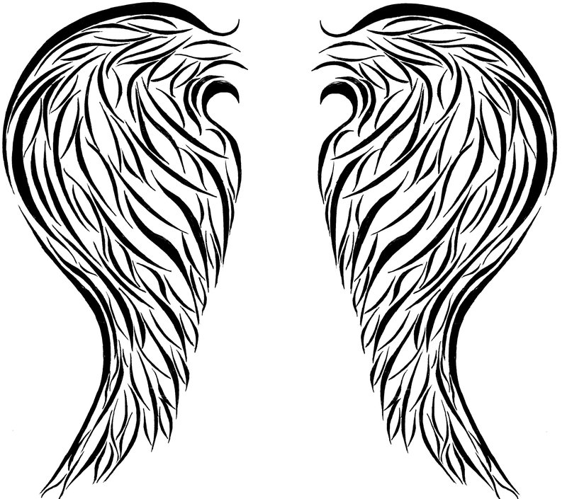 24 Heart With Angel Wings Drawings   Free Cliparts That You Can