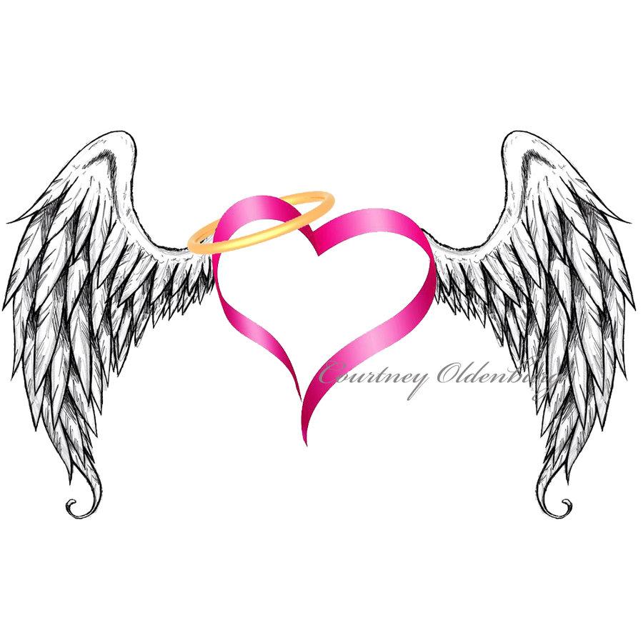 Angel Wings    By Courtneyoldenburg On Deviantart
