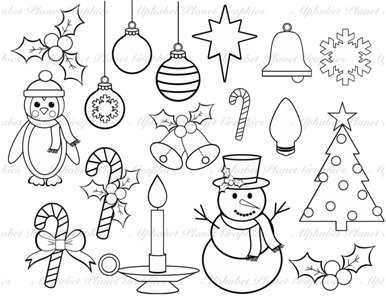 Crafts Black And White Clipart - Clipart Suggest