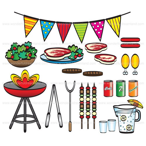 company bbq clipart clipart suggest