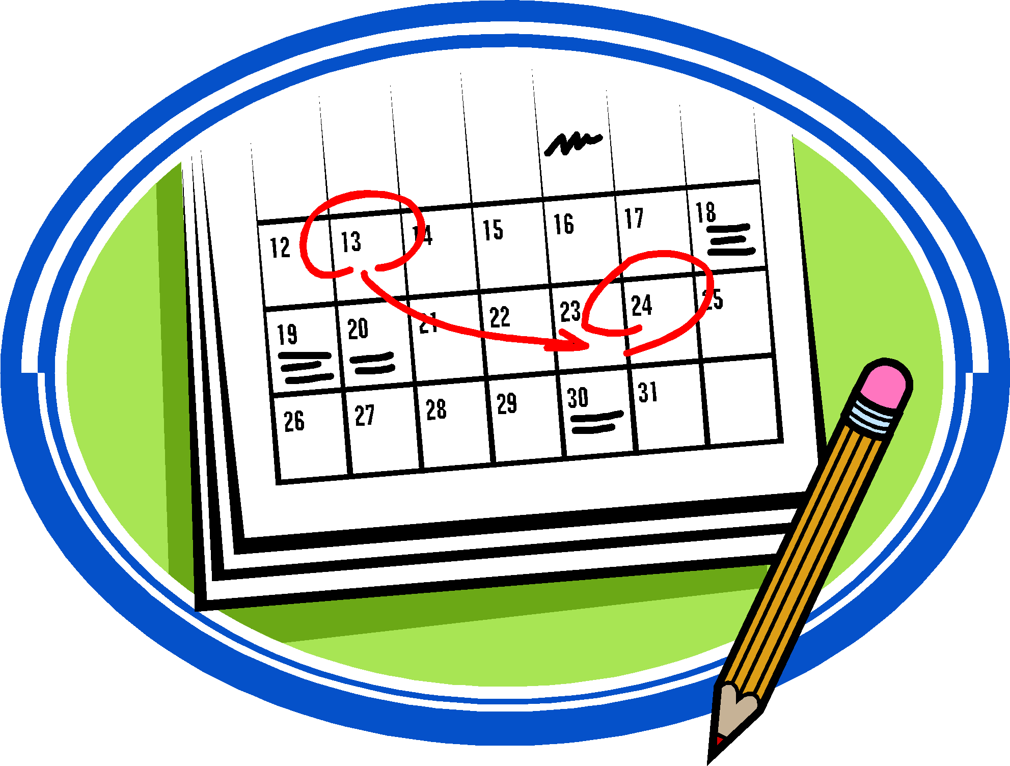 Daily Schedule Clipart   Clipart Panda   Free Clipart Images