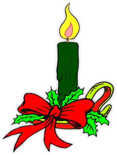 Candle in window clipart suggest