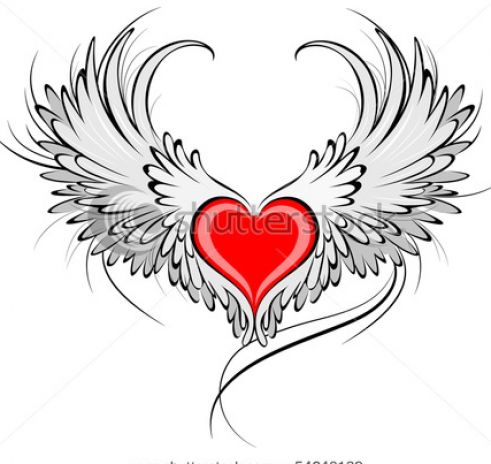Pictures Of Hearts With Angel Wings Pictures 4