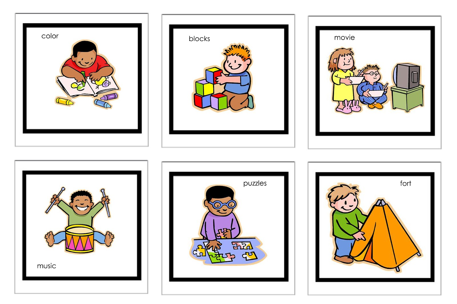 Toddler And Preschoolers Clipart - Clipart Kid