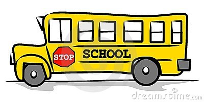 Wallpaper School Bus Side View Clipart
