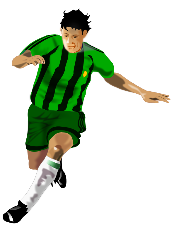 Free To Use   Public Domain Soccer Clip Art