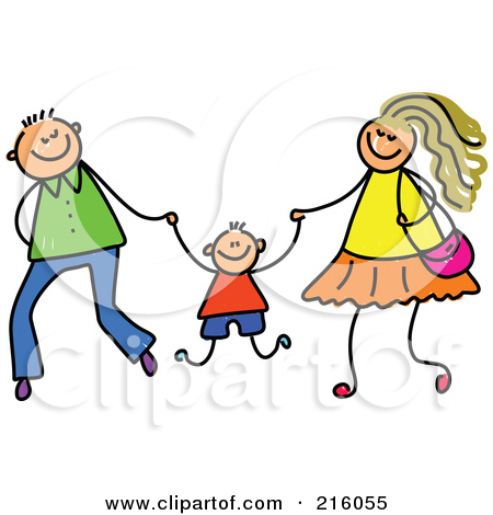 Mom Dad And Baby Clip Art