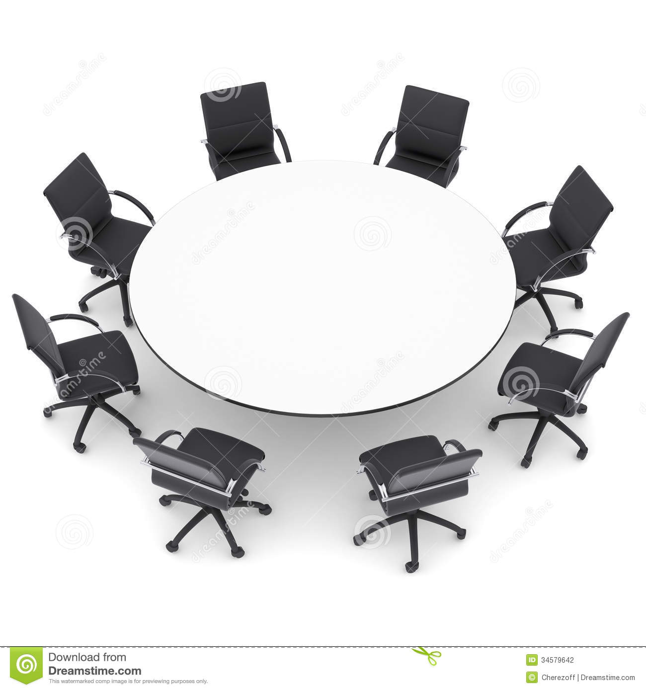 Line Art Table : Round table and chairs clipart suggest