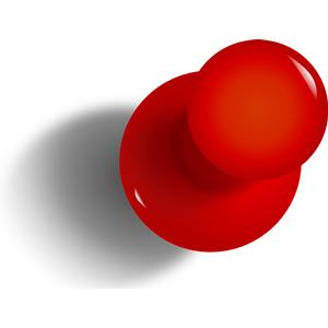 Clip Art Push Pin Clipart pushpin clipart kid thumbtack cliparts of free download
