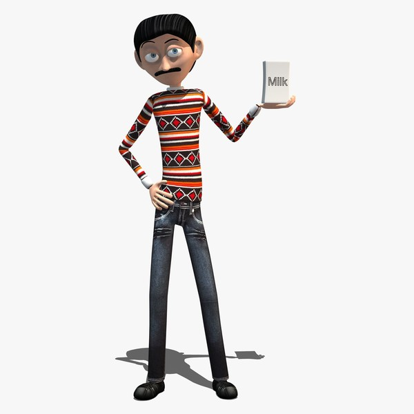 11 Skinny Cartoon Man Free Cliparts That You Can Download To You