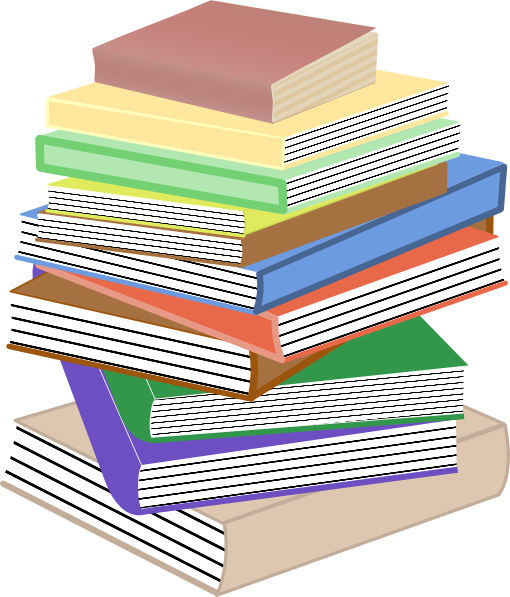 13 Pile Of Books   Free Cliparts That You Can Download To You Computer