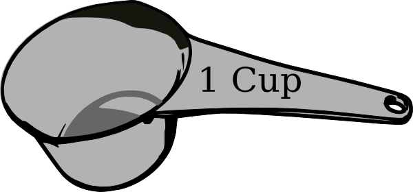 Cup Measuring Cup Clipart   Clipart Panda   Free Clipart Images