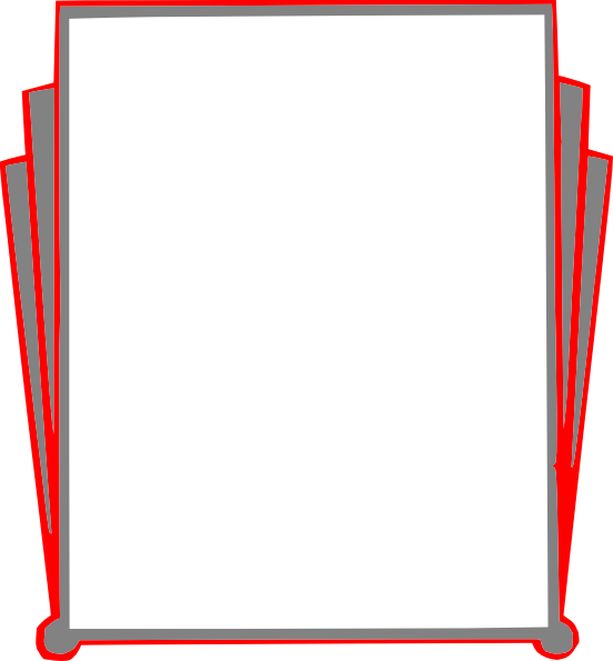 Decorative Border Pages Book Clip Art At Clker Com Vector Clip Art