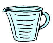 Dry Measuring Cup Clipart   Clipart Panda   Free Clipart Images