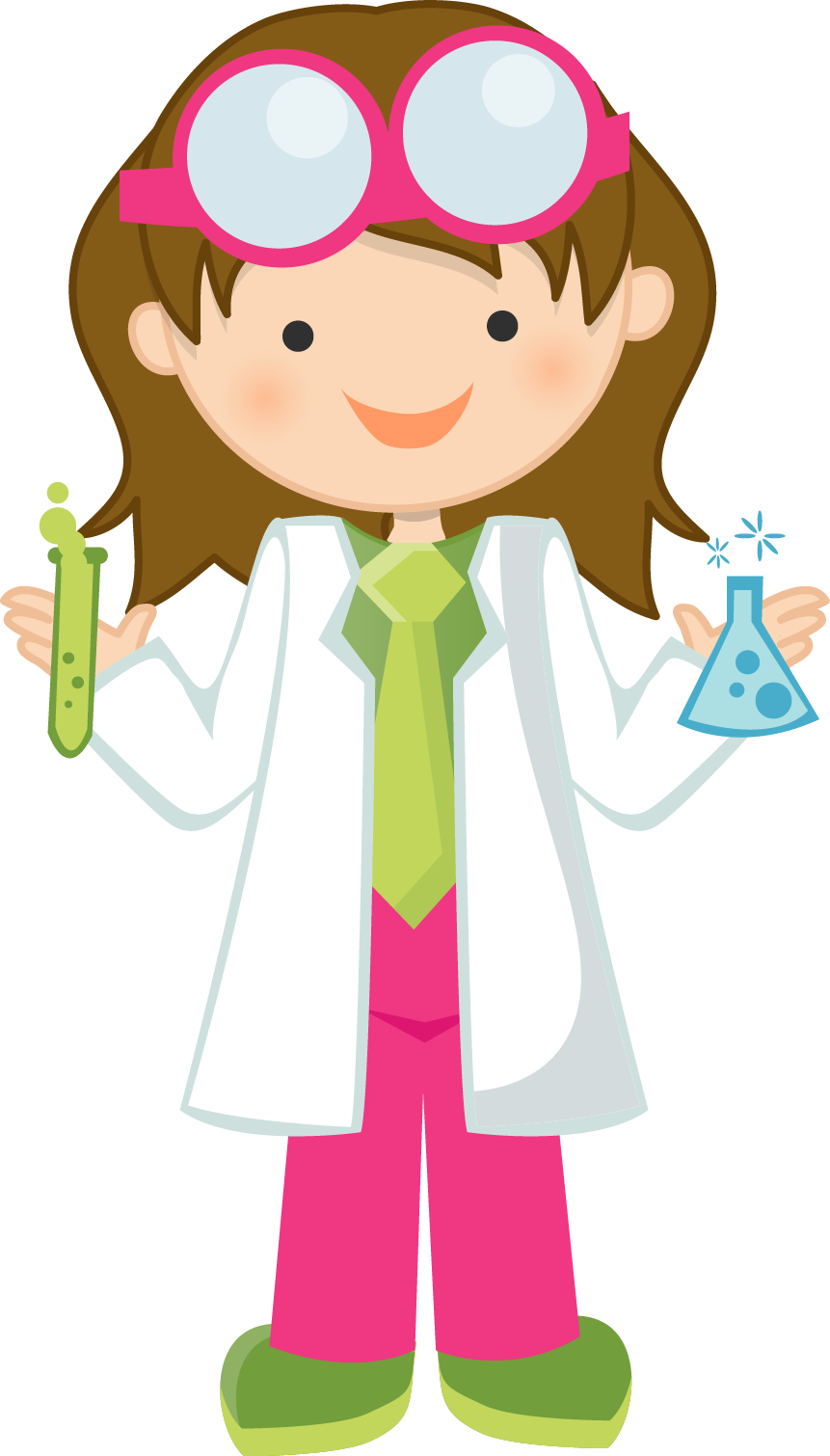 Resultado de imagen para cartoon kid scientist