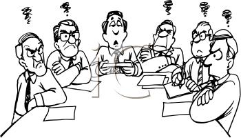 Cartoon Meeting Clipart - Clipart Kid