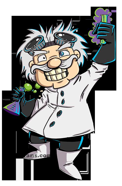 Mad Scientist Clipart - Clipart Kid