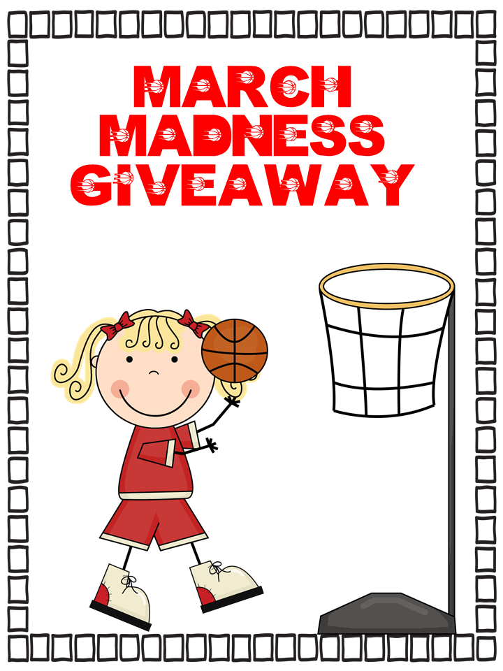 March Madness Clipart March Madness Giveaway