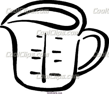Measuring Cup Clipart   Clipart Panda   Free Clipart Images