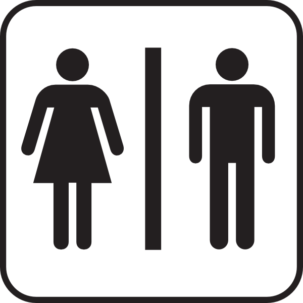 Men Women Bathroom Clip Art At Clker Com   Vector Clip Art Online