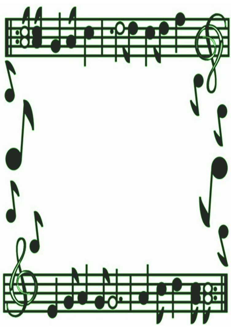 Music Notes Border Clip Art   Clipart Panda   Free Clipart Images