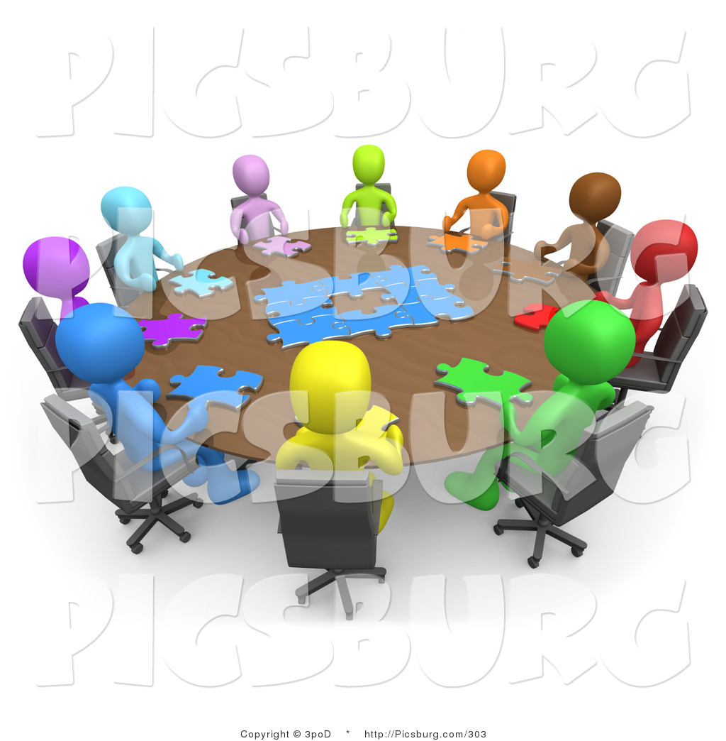 Office Clip Art Free Clip Art Of D People Holding A Meeting And Trying