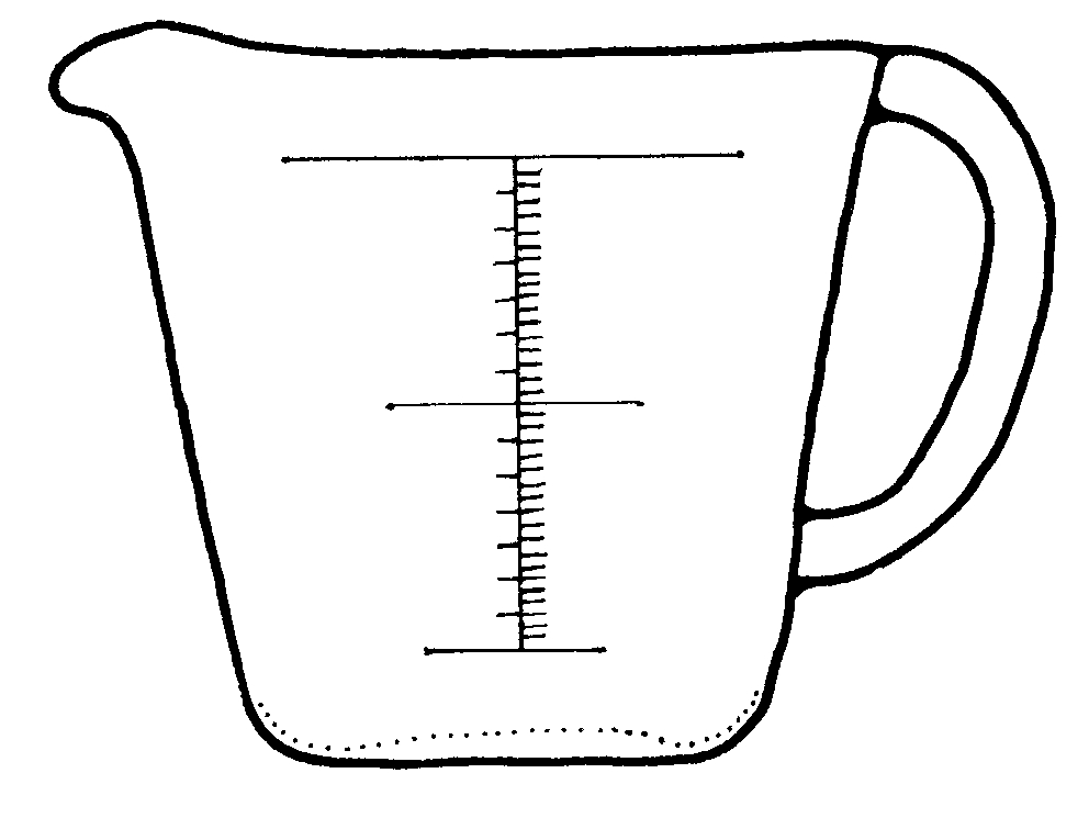 liquid measuring cup clipart clipart suggest measuring cup clipart silhouette measuring cup clipart chart