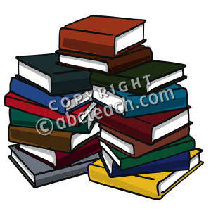 Pile Of Books Clipart