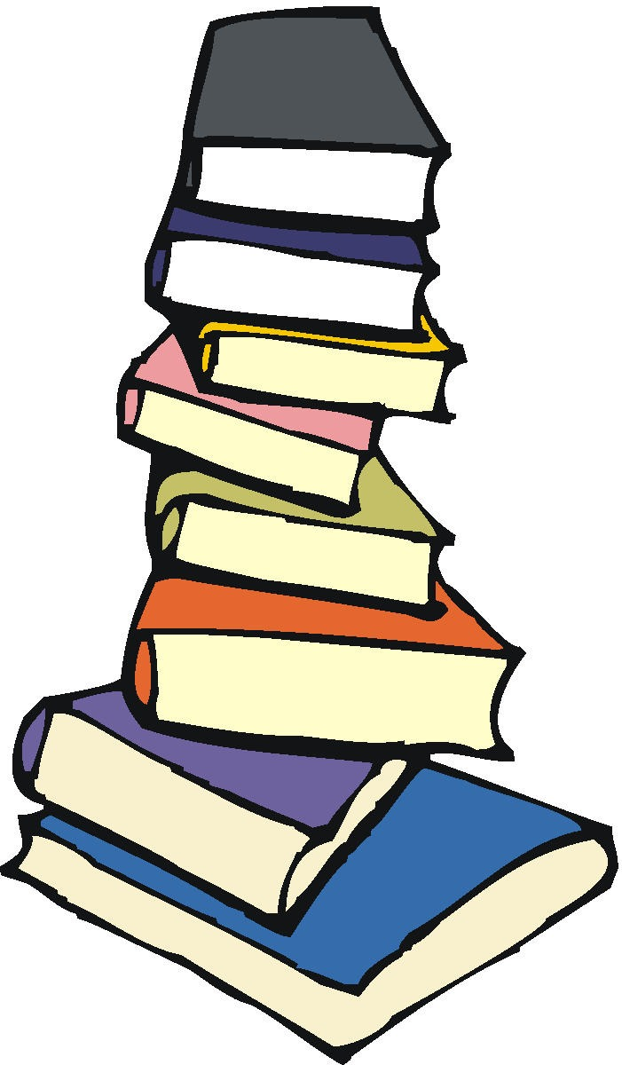 Pile Of Books Clipart - Clipart Kid