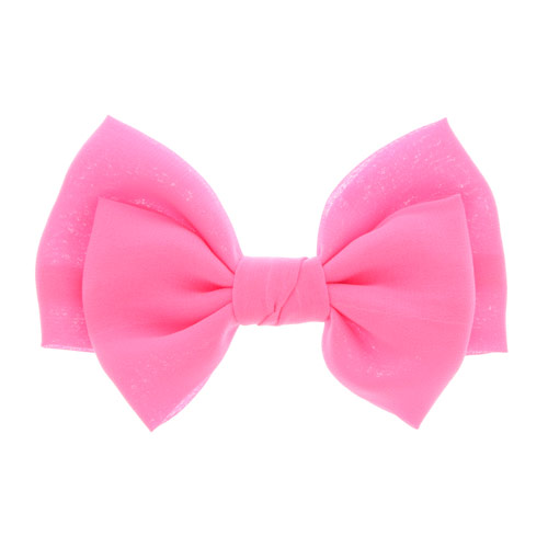 Pink Bow Hair Clip Your Fave S Hair Bows All Neon Brights Hair